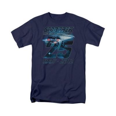 Tシャツ スタートレック Star Trek Enterprise 25 Licensed Adult T Shirt