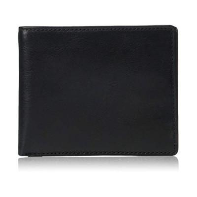 Italian Bull Leather Classic Bifold Credit Card Wallet