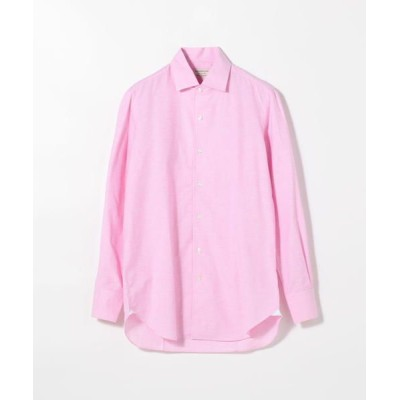 TOMORROWLAND/トゥモローランド Maria Santangelo コットンリネン ワンピースカラーシャツ 33 ピンク 40