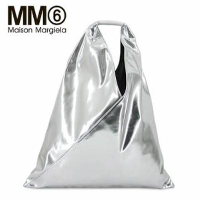 【2021春夏新作】 エムエムシックス メゾンマルジェラ/MM6 Maison Margiela レディース  トートバッグ S54WD0039 P3630 (シルバー/T9002)