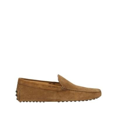トッズ TOD'S メンズ ローファー シューズ・靴 loafers Light brown