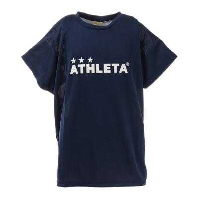 (ATHLETA)JRプラクティスTシャツ サッカー JRフットサルウエア 02344J−90NVY