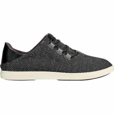 オルカイ OluKai レディース シューズ・靴 Olukai Haleiwa Li Haa Shoe Black/Off White
