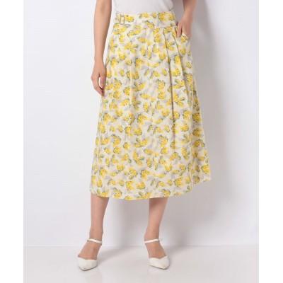 【マリンフランセーズ】 mimosaグルカ風スカート レディース レモン 0 LA MARINE FRANCAISE