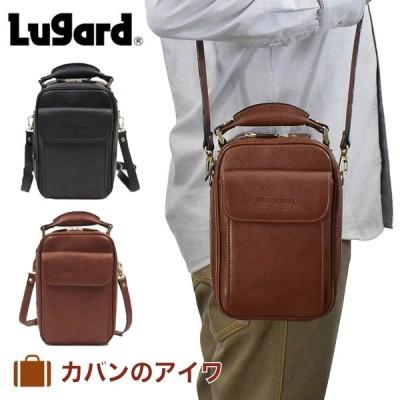 青木鞄 ショルダーバッグ バッグ メンズ Lugard ラガード NEVADA ネヴァダ ネバダ 本革 レザー 2way 2気室 日本製 ブランド 大人 5075