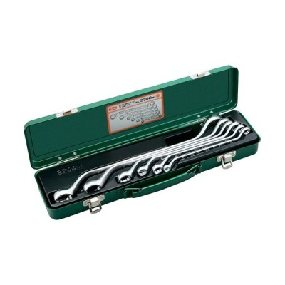 TONE 整備工具 スパナ/レンチ 2700M メガネレンチセット 2700M