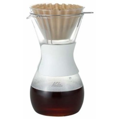 ドリップサーバー コーヒーサーバー ガラス Kalita(カリタ) ウェーブスタイル 2~4人用 35159【送料無料】