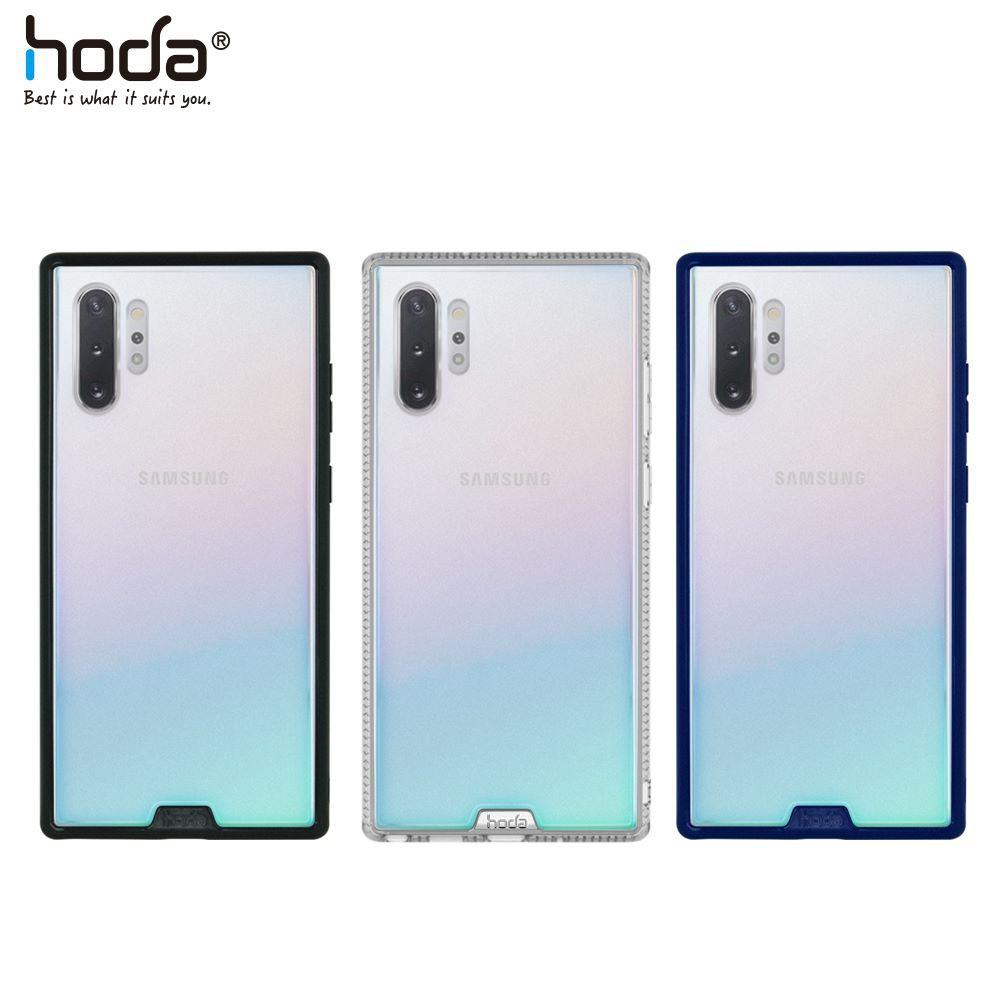 【買一送一】hoda Samsung Note10+ 6.8吋專用 柔石軍規防摔保護殼