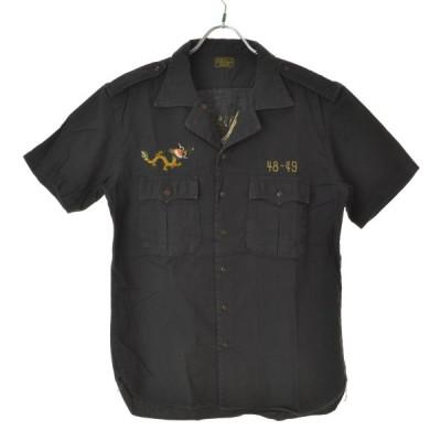 OLD JOE&CO / オールドジョー 刺繍 半袖シャツ