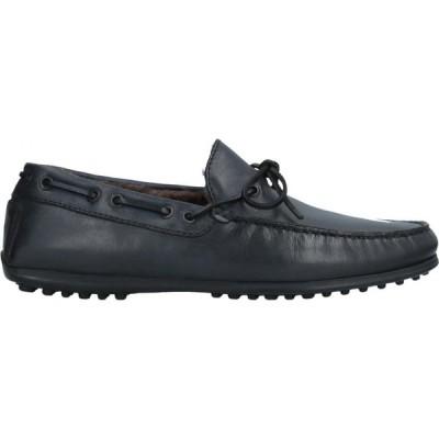 マニラ MANILA メンズ ローファー シューズ・靴 loafers Dark blue