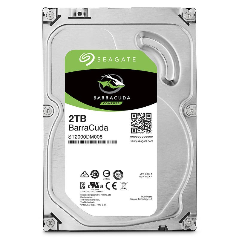 Seagate 希捷 新梭魚 2TB 3.5吋 桌上型硬碟