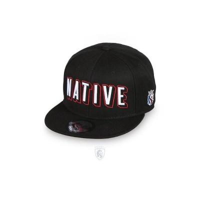 帽子 オージエーベル OG Abel OGABEL Men's Native Snapback Hat Black Baseball Cap Headwear Apparel