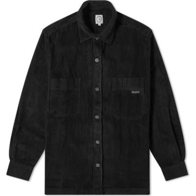 ポーラー スケート カンパニー Polar Skate Co. メンズ シャツ トップス cord shirt Black