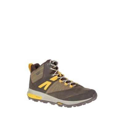 メレル メンズ スニーカー シューズ Zion Waterproof Leather Hiking Boot SEAL BROWN