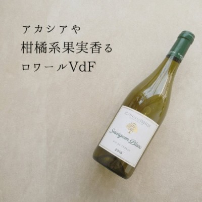 アランドラトレイユ VdFソーヴィニヨンブラン  ロワール ソーヴィニヨンブラン 白ワイン Alain de la Treille Sauvignon Blanc VdF