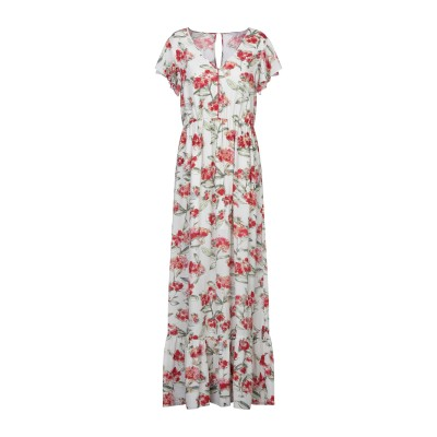 パトリツィア ペペ PATRIZIA PEPE ロングワンピース&ドレス ホワイト 42 ポリエステル 100% ロングワンピース&ドレス