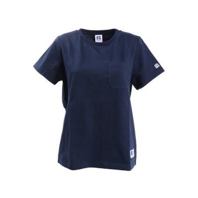 ラッセル(RUSSELL) Tシャツ レディース 半袖 NB ポケット RBL20S1006 NVY (レディース)