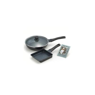 たいめいけん アルミ鋳物フライパン 26cm&玉子焼 TM-125