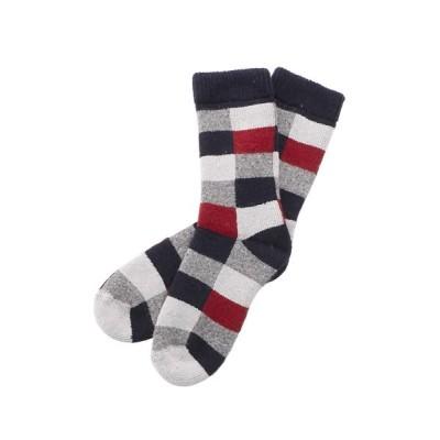 (BACKYARD/バックヤード)HFOOTWEAR hfootwear ウール混合靴下/レディース ネイビー系4