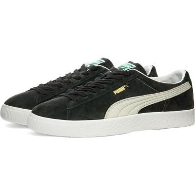 プーマ Puma メンズ スニーカー シューズ・靴 Suede VTG Black/White