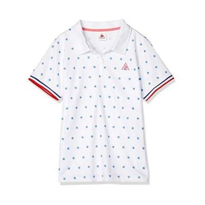 [ルコックスポルティフ] ポロシャツ 半袖ポロシャツ レディース QMWPJA42 WHT 日本 M (日本サイズM相当)