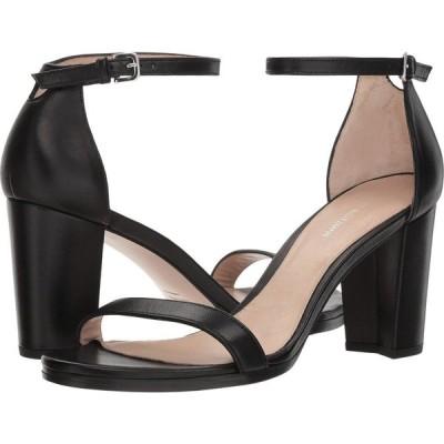 スチュアート ワイツマン Stuart Weitzman レディース サンダル・ミュール アンクルストラップ シューズ・靴 Nearlynude Ankle Strap City Sandal Black Nappa