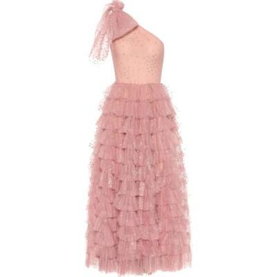 REDV レディース パーティードレス ワンショルダー ワンピース・ドレス alentino embellished one-shoulder tulle gown Confetto