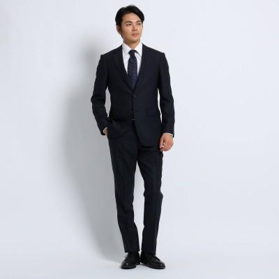 タケオ キクチ TAKEO KIKUCHI ピンストライプ スーツ (ダークネイビー)