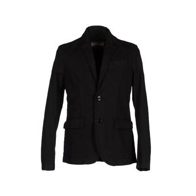ガリアーノ GALLIANO テーラードジャケット ブラック 46 コットン 98% / ポリウレタン 2% テーラードジャケット