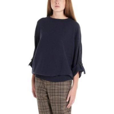 BRUNELLO CUCINELLI/ブルネロクチネリ Blue Buckles sweater レディース 秋冬2019 M12162410PC7186 ju