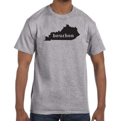 ユニセックス 衣類 トップス J2 Sport Kentucky State Bourbon Home Unisex Graphite Heather T-Shirt グラフィックティー