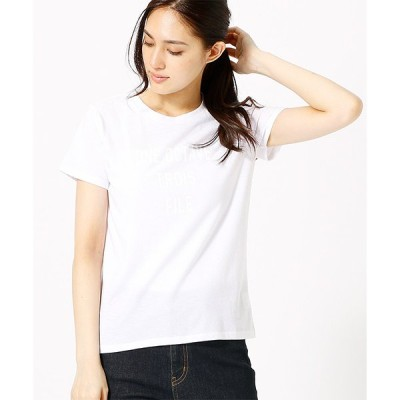 tシャツ Tシャツ 発色カラーのシンプルロゴTシャツ