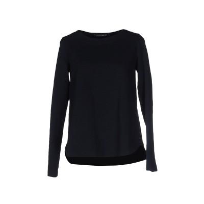 EUROPEAN CULTURE スウェットシャツ ダークブルー XXS コットン 95% / ポリウレタン® 5% スウェットシャツ