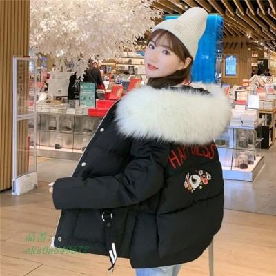 中綿ジャケット レディース ショート丈 可愛い 防風 防寒 冬