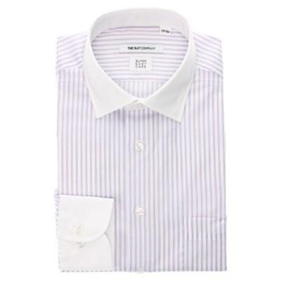 【SUPER EASY CARE・再生繊維】クレリック&ワイドカラードレスシャツ 〔EC・FIT〕
