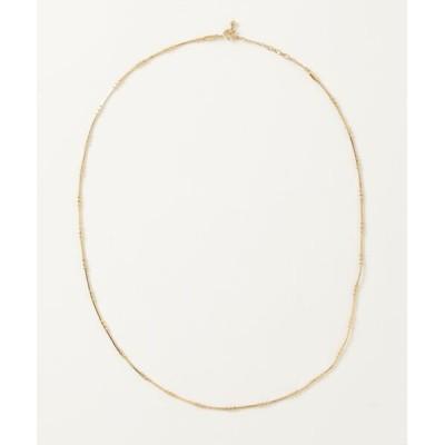 ネックレス Ray BEAMS / デザイン スネークチェーン ネックレス