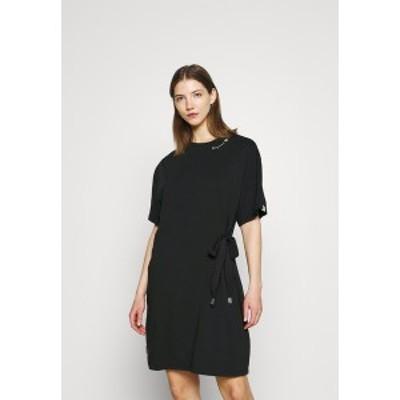 ラグウェア レディース ワンピース トップス FANYA - Jersey dress - black black