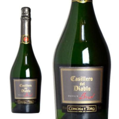 カッシェロ・デル・ディアブロ デビルズ・ブリュット コンチャ・イ・トロ 750ml (チリ スパークリングワイン 箱なし)