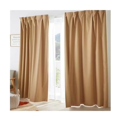 【1cm単位オーダー】ドビー織遮熱・防音・1級遮光カーテン(1枚) ドレープカーテン(遮光あり・なし) Curtains, blackout curtains, thermal curtains, Drape(ニッセン、nissen)