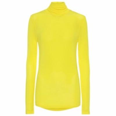 イザベル マラン Isabel Marant レディース トップス Joyela jersey roll-neck top Yellow