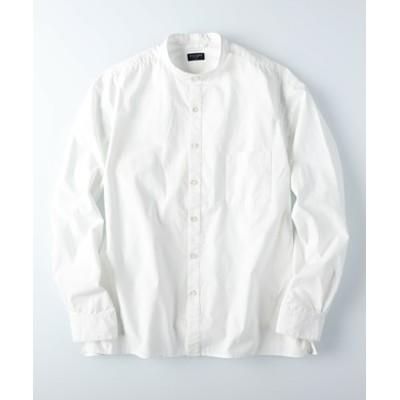 レギュラーバンドカラーシャツ メンズ