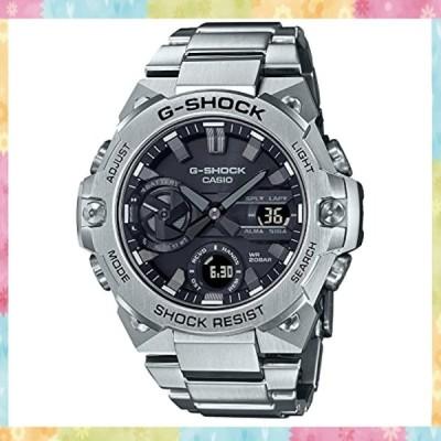 [カシオ] 腕時計 ジーショック G-STEEL スマートフォン リンク カーボンコアガード構造 GST-B400D-1AJF メンズ シルバ