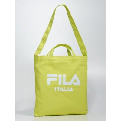 【フィラ】 イージーショルダートート(FM2066) ユニセックス イエロー FREE FILA