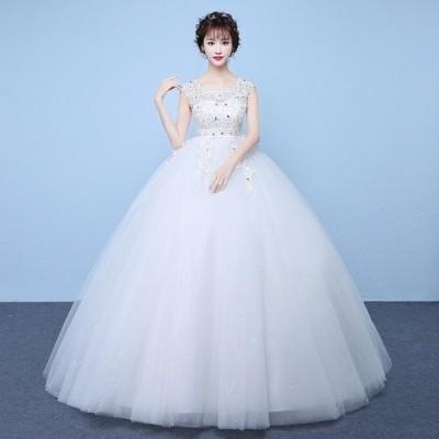 ウエディングドレス 安い ロングドレス マタニティドレス 結婚式 エンパイア お呼ばれ ブライダル 二次会 花嫁  大きいサイズ wedding dress 妊婦可