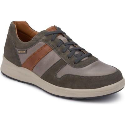 メフィスト MEPHISTO メンズ スニーカー シューズ・靴 Vito Sneaker Grey/Hazelnut Sportsuede