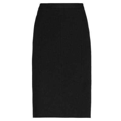 MOSCHINO CHEAP AND CHIC ひざ丈スカート  レディースファッション  ボトムス  スカート  ロング、マキシ丈スカート ブラック