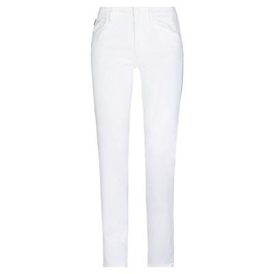 ラブ モスキーノ LOVE MOSCHINO パンツ ホワイト 25 コットン 67% / テンセル 29% / ポリウレタン 4% パンツ