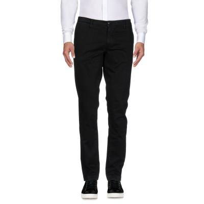マニュエル リッツ MANUEL RITZ パンツ ブラック 44 コットン 97% / ポリウレタン 3% パンツ