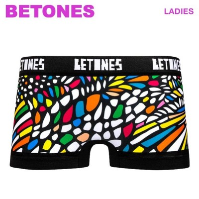 BETONES ビトーンズ ボクサーパンツ レディース CHURCH シームレス ショーツ 女性 下着 メール便可 CH001L