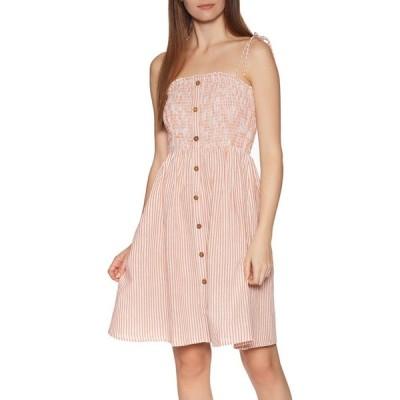 リップカール Rip Curl レディース ワンピース ワンピース・ドレス sweet stripy dress White